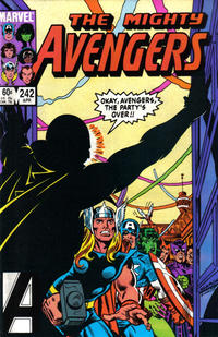 Cover Thumbnail for The Avengers (Marvel, 1963 series) #242 [Direct Edition]