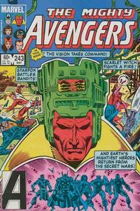 Cover Thumbnail for The Avengers (Marvel, 1963 series) #243 [Direct Edition]