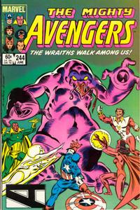 Cover Thumbnail for The Avengers (Marvel, 1963 series) #244 [Direct Edition]