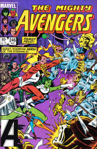 Cover Thumbnail for The Avengers (Marvel, 1963 series) #246 [Direct Edition]