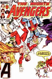 Cover for The Avengers (Marvel, 1963 series) #248 [Newsstand Edition]