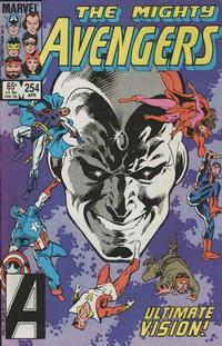 Cover Thumbnail for The Avengers (Marvel, 1963 series) #254 [Direct]