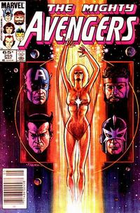 Cover Thumbnail for The Avengers (Marvel, 1963 series) #255 [Newsstand]