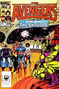 Cover Thumbnail for The Avengers (Marvel, 1963 series) #259 [Direct]
