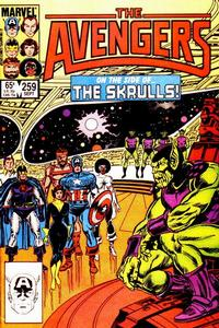 Cover Thumbnail for The Avengers (Marvel, 1963 series) #259 [Direct Edition]