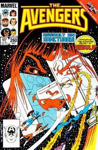 Cover Thumbnail for The Avengers (Marvel, 1963 series) #260 [Direct]