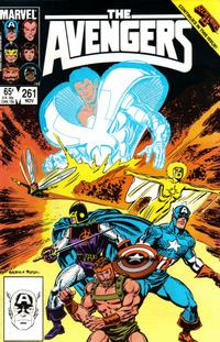 Cover Thumbnail for The Avengers (Marvel, 1963 series) #261 [Direct Edition]