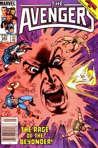 Cover Thumbnail for The Avengers (Marvel, 1963 series) #265 [Newsstand Edition]