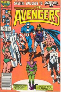 Cover for The Avengers (Marvel, 1963 series) #266 [Direct Edition]