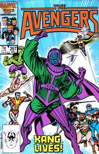 Cover Thumbnail for The Avengers (Marvel, 1963 series) #267 [Direct Edition]