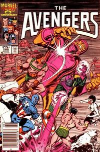 Cover for The Avengers (Marvel, 1963 series) #268 [Direct Edition]