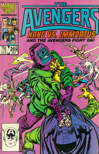 Cover Thumbnail for The Avengers (Marvel, 1963 series) #269 [Direct Edition]