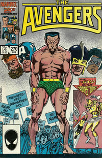 Cover Thumbnail for The Avengers (Marvel, 1963 series) #270 [Direct]