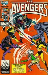 Cover Thumbnail for The Avengers (Marvel, 1963 series) #271 [Direct]