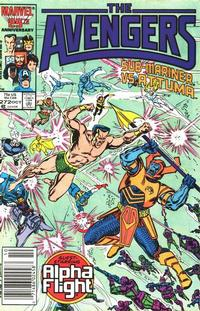 Cover for The Avengers (Marvel, 1963 series) #272 [Direct Edition]