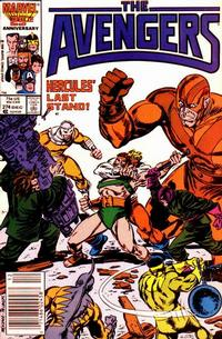 Cover Thumbnail for The Avengers (Marvel, 1963 series) #274 [Newsstand Edition]