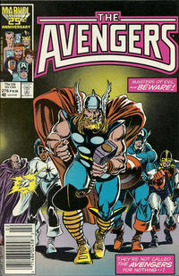 Cover Thumbnail for The Avengers (Marvel, 1963 series) #276 [Newsstand Edition]