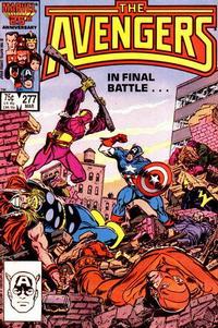 Cover Thumbnail for The Avengers (Marvel, 1963 series) #277 [Direct]