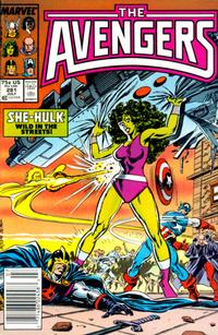 Cover Thumbnail for The Avengers (Marvel, 1963 series) #281 [Newsstand Edition]