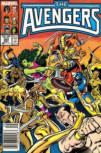 Cover Thumbnail for The Avengers (Marvel, 1963 series) #283 [Newsstand Edition]