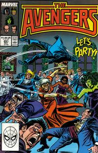 Cover Thumbnail for The Avengers (Marvel, 1963 series) #291 [Direct Edition]