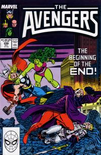 Cover Thumbnail for The Avengers (Marvel, 1963 series) #296 [Direct Edition]