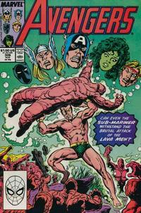 Cover Thumbnail for The Avengers (Marvel, 1963 series) #306 [Direct Edition]