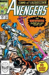 Cover Thumbnail for The Avengers (Marvel, 1963 series) #313 [Direct Edition]