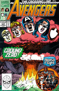 Cover Thumbnail for The Avengers (Marvel, 1963 series) #323 [Direct Edition]