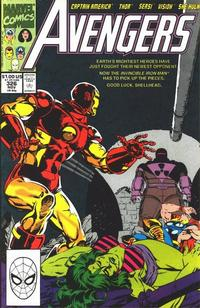 Cover Thumbnail for The Avengers (Marvel, 1963 series) #326 [Direct Edition]
