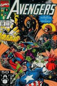 Cover Thumbnail for The Avengers (Marvel, 1963 series) #330 [Direct Edition]