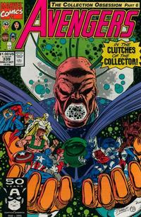 Cover Thumbnail for The Avengers (Marvel, 1963 series) #339 [Direct Edition]