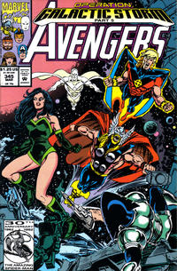Cover Thumbnail for The Avengers (Marvel, 1963 series) #345 [Direct Edition]