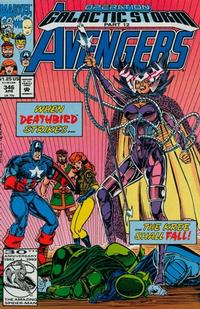 Cover Thumbnail for The Avengers (Marvel, 1963 series) #346 [Direct Edition]