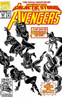 Cover Thumbnail for The Avengers (Marvel, 1963 series) #347 [Direct Edition]
