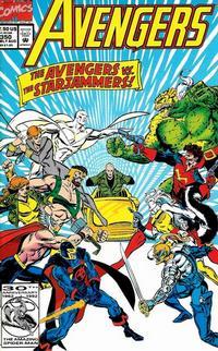 Cover Thumbnail for The Avengers (Marvel, 1963 series) #350 [Direct]