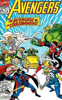 Cover Thumbnail for The Avengers (Marvel, 1963 series) #350 [Direct Edition]