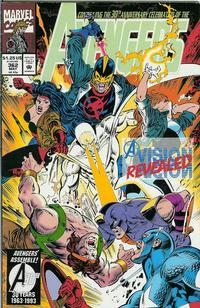 Cover Thumbnail for The Avengers (Marvel, 1963 series) #362 [Direct Edition]