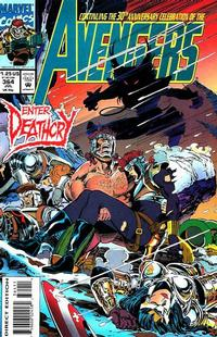Cover Thumbnail for The Avengers (Marvel, 1963 series) #364 [Direct Edition]