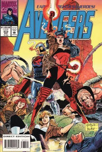Cover Thumbnail for The Avengers (Marvel, 1963 series) #373 [Direct Edition]