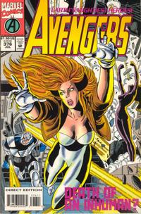 Cover Thumbnail for The Avengers (Marvel, 1963 series) #376 [Direct Edition]