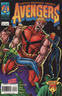 Cover Thumbnail for The Avengers (Marvel, 1963 series) #393 [Direct Edition]