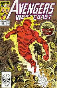 Cover Thumbnail for Avengers West Coast (Marvel, 1989 series) #50 [Direct]