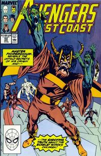 Cover Thumbnail for Avengers West Coast (Marvel, 1989 series) #52 [Direct]