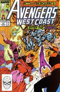 Cover Thumbnail for Avengers West Coast (Marvel, 1989 series) #53 [Direct Edition]