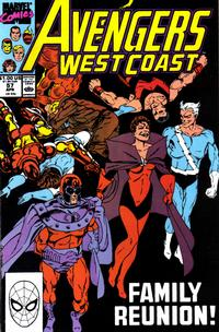 Cover Thumbnail for Avengers West Coast (Marvel, 1989 series) #57 [Direct Edition]