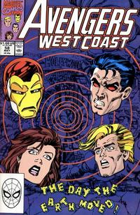 Cover Thumbnail for Avengers West Coast (Marvel, 1989 series) #58 [Direct Edition]