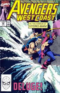 Cover Thumbnail for Avengers West Coast (Marvel, 1989 series) #59 [Direct Edition]