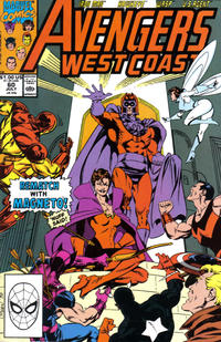 Cover Thumbnail for Avengers West Coast (Marvel, 1989 series) #60 [Direct Edition]