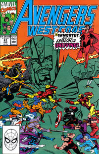 Cover Thumbnail for Avengers West Coast (Marvel, 1989 series) #61 [Direct Edition]